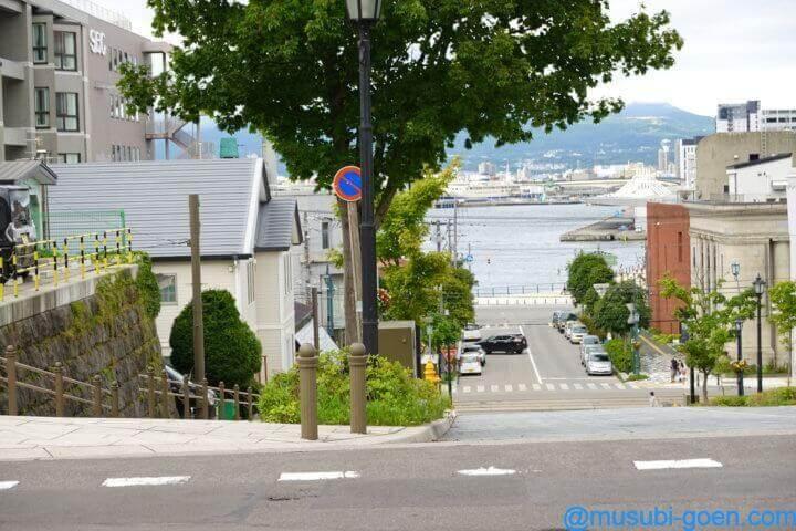 函館 観光 旅行 八幡坂 昼景 夜景
