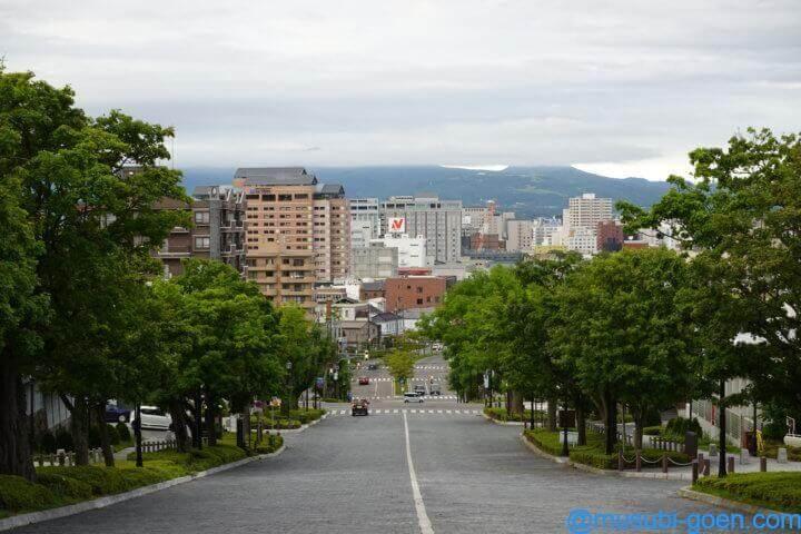 函館 観光 旅行 二十間坂