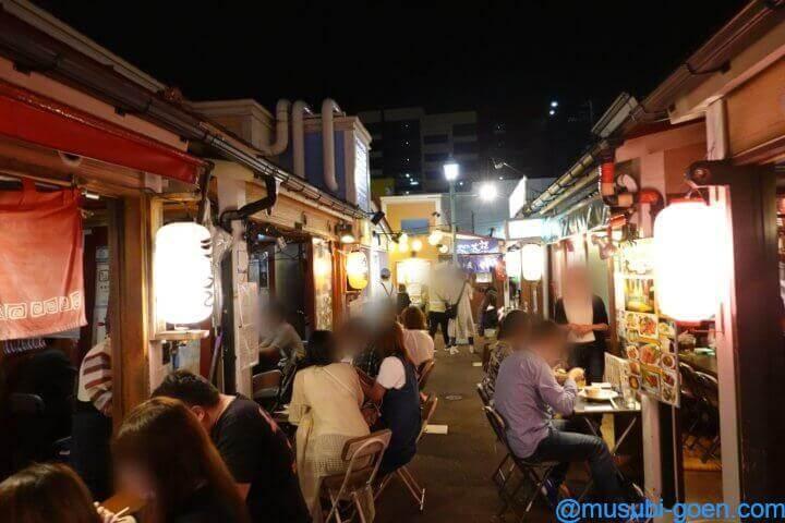 函館 観光 旅行 大門横丁 夕食
