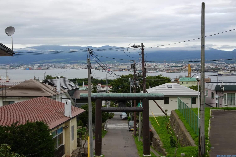 函館 観光 旅行 神社 船魂神社 源義経